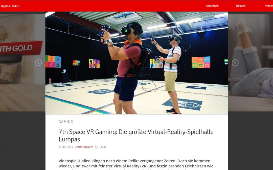 7th Space VR Gaming: Die größte Virtual-Reality-Spielhalle Europas