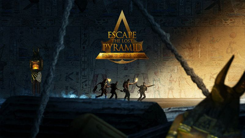 escape the lost pyramid Firmenevents