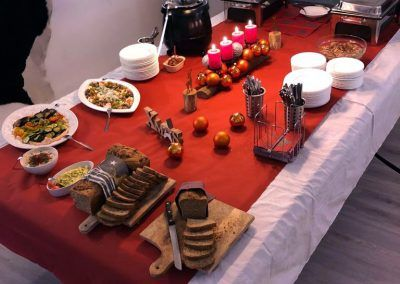 7th space buffet catering Firmenevents